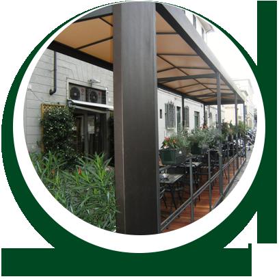 locale commerciale - struttura dehor Alpi Serramenti Torino