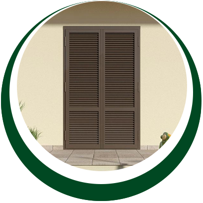 sicurezza casa - gelosie color fango - Alpi Serramenti Torino