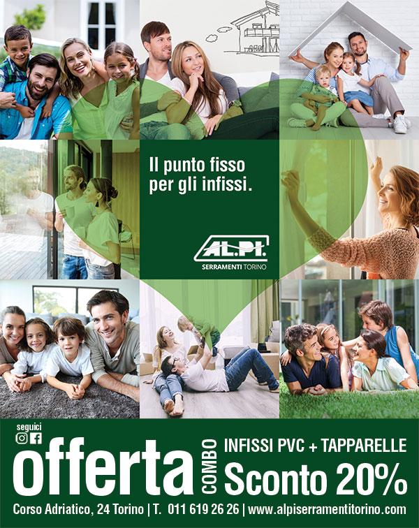 Locandina Offerta Combo 2018 Alpi Serramenti