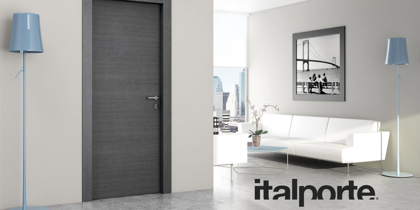 porta interna in laminato grigio Italporte