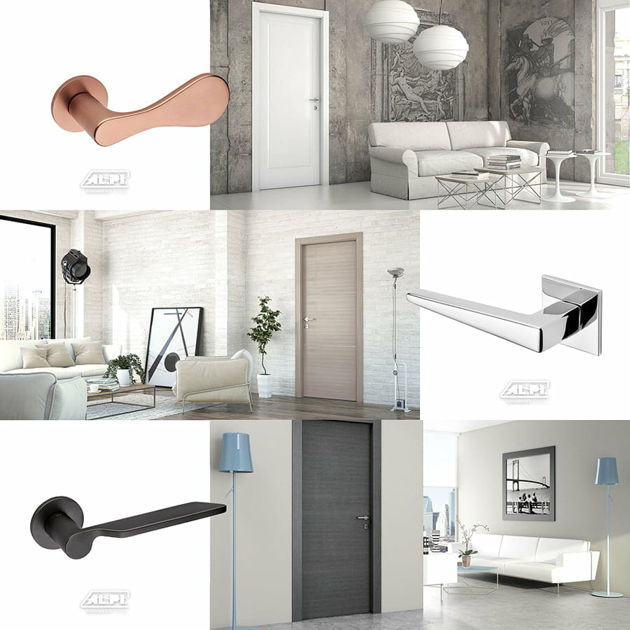 maniglie e porte interne design casa