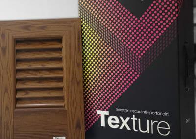 Texture by Leon campione persiana alluminio