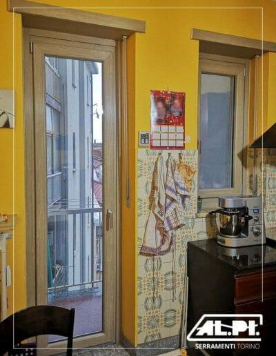 Porta finestra, serramento FRAMA pvc, da AL-PI Serramenti