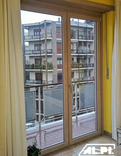 Doppia finestra, serramento FRAMA pvc, da AL-PI Serramenti