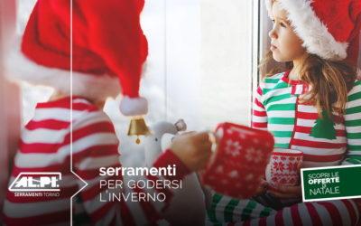 Buon Natale e buone feste da ALPI Serramenti Torino