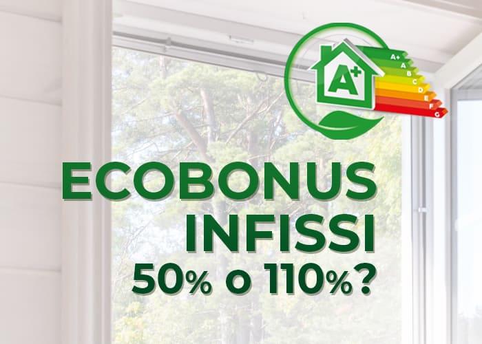 Bonus finestre, detrazioni al 50% o 110%?