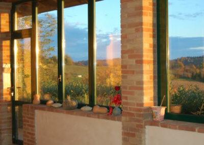realizzazione veranda alluminio e vetro ALPI Serramenti