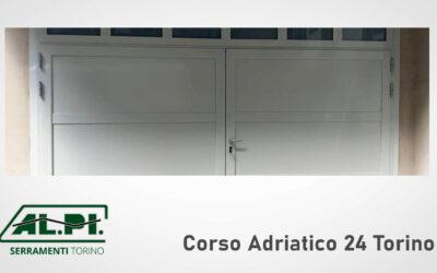 Porte garage, realizzazione e installazione ALPI Serramenti