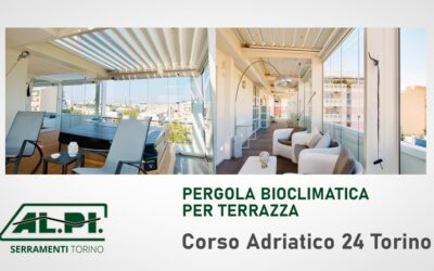 Pergole bioclimatiche per Terrazzo